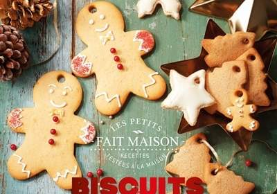 Biscuits de Noël d'Eva Harlé : un livre de cuisine de Noël