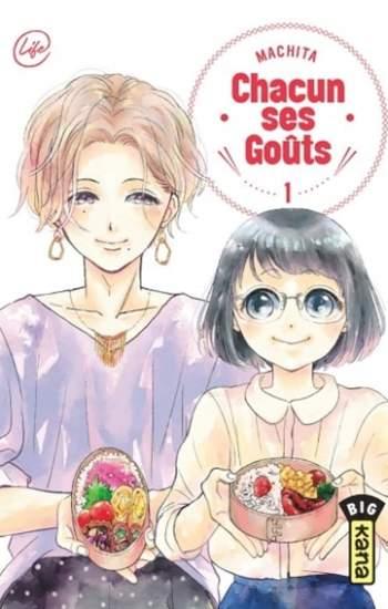 Chacun ses goûts : nouveau manga de Machita