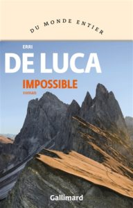 Impossible d'Erri de Luca : meilleur livre 2020