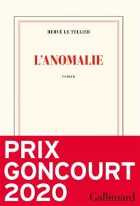 L'Anomalie de Hervé Le Tellier : meilleur roman 2020