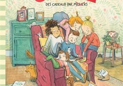 Les couzz de Fany Joly : nouveau livre enfants Noël