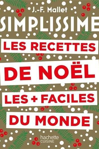 Livre de cuisine Simplissime spécial Noël