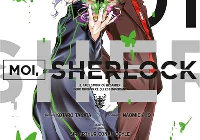 Moi, Sherlock - nouveau manga