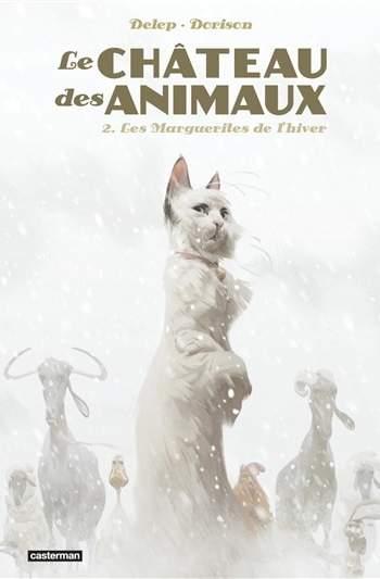 Le château des animaux, les marguerites de l'hivertome 2, BD,