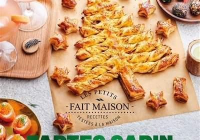Tartes et apéros de fêtes : un livre de cuisine de Caroline Pessin
