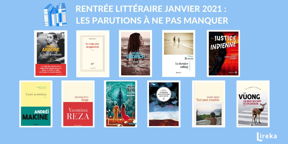 Sélection des meilleurs livres de la rentrée littéraire 2021