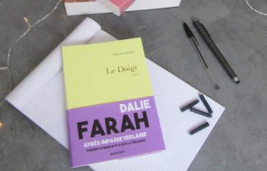 Le doigt : nouveau livre Dalie Farah