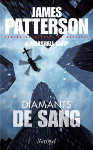 Diamants de sang de James Patterson : meilleur roman policier 2021