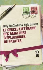 Le cercle littéraire des amateurs d'épluchures de patates : livre feel good