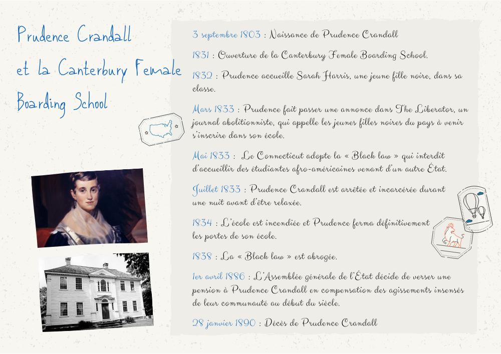 Prudence Crandall biographie