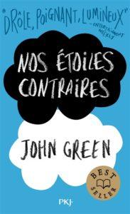 Nos étoiles contraires : livre romance ado de John Green