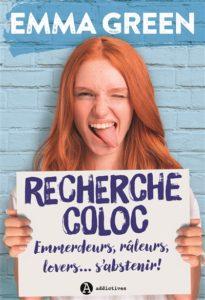 Recherche coloc : livre new romance 2020 Emma Green