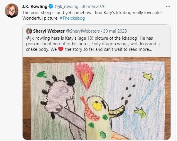 Illustration L'Ickabog de JK Rowling