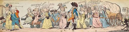Au retour de Louis XVI et de la famille royale à Parisles).