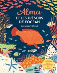 alma et les trésors de l'océan : livres sur les animaux