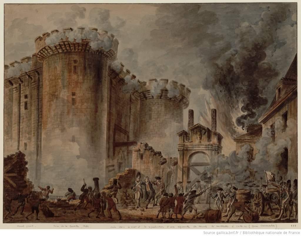 Les adieux à la reine livre : Prise de la Bastille