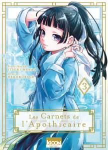 les carnets de l'apothicaire, tome 3 : top manga 2021