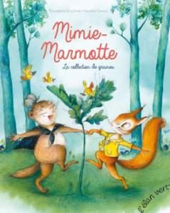 mimie marmotte : livres sur les animaux