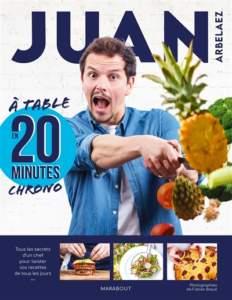à table en 20 minutes chrono : livre de cuisine