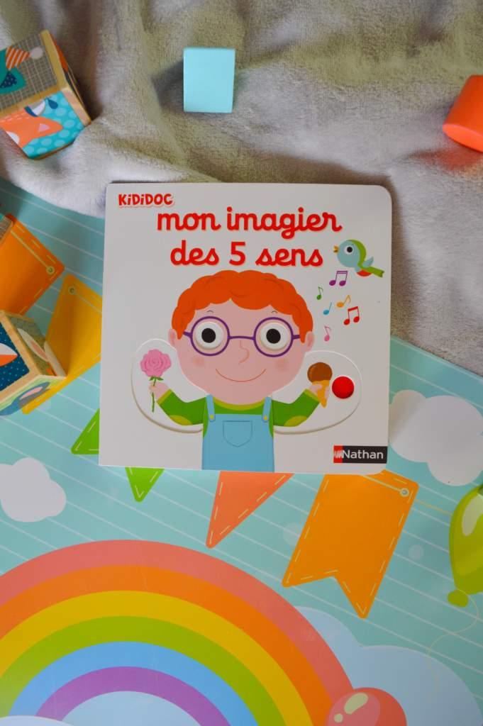 mon imagier des cinq sens : livre bébé