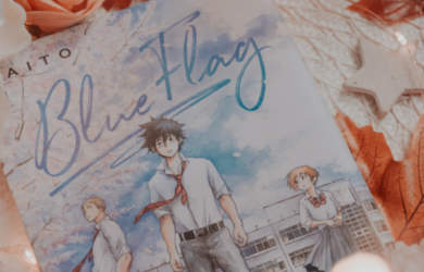 manga blue flag