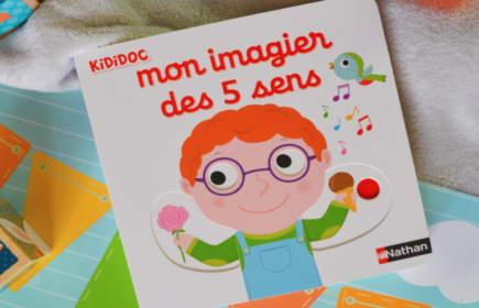 mon imagier des cinq sens : imagier bébé