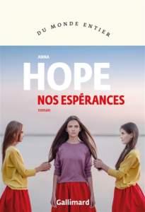 anna hope nos espérances