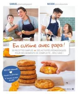 En cuisine avec Papa livre fete des peres