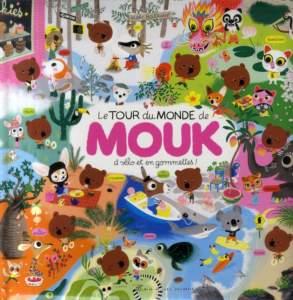le tour du monde de Mouk : livres d'activités pour enfants