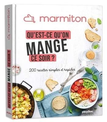 marmiton livre cuisine