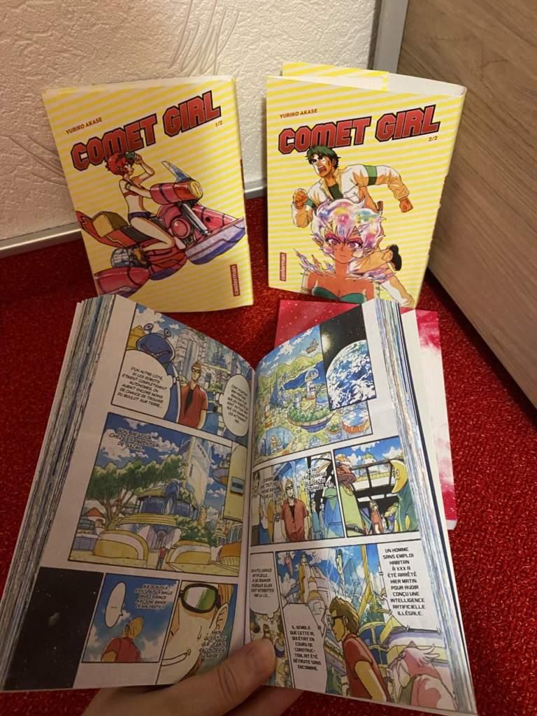 comet girl top manga 2021