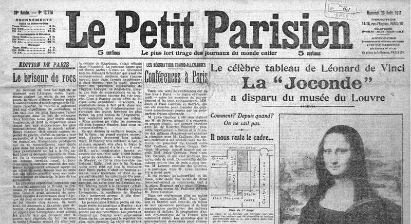 Guillaume Apollinaire a volé la Joconde !