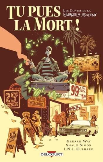 les contes de la umbrella academy tome 1 : nouveauté bd 2021