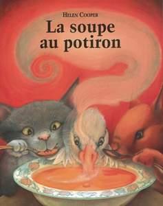 la soupe au potiron : automne enfant
