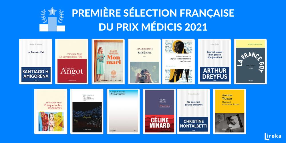 selection prix médicis 2021