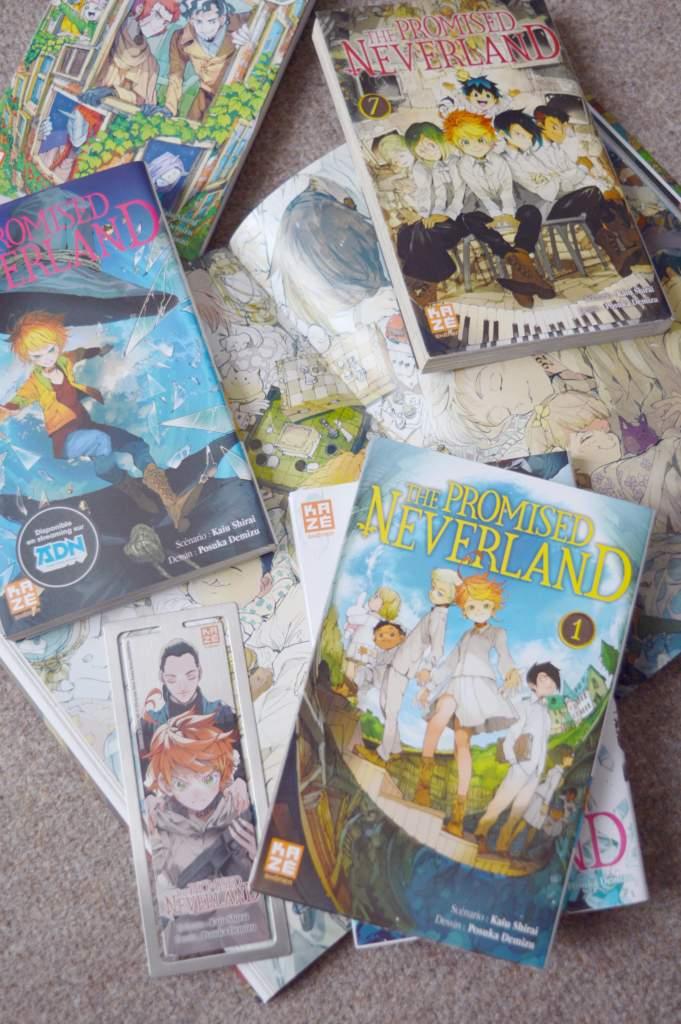 the promised neverland manga